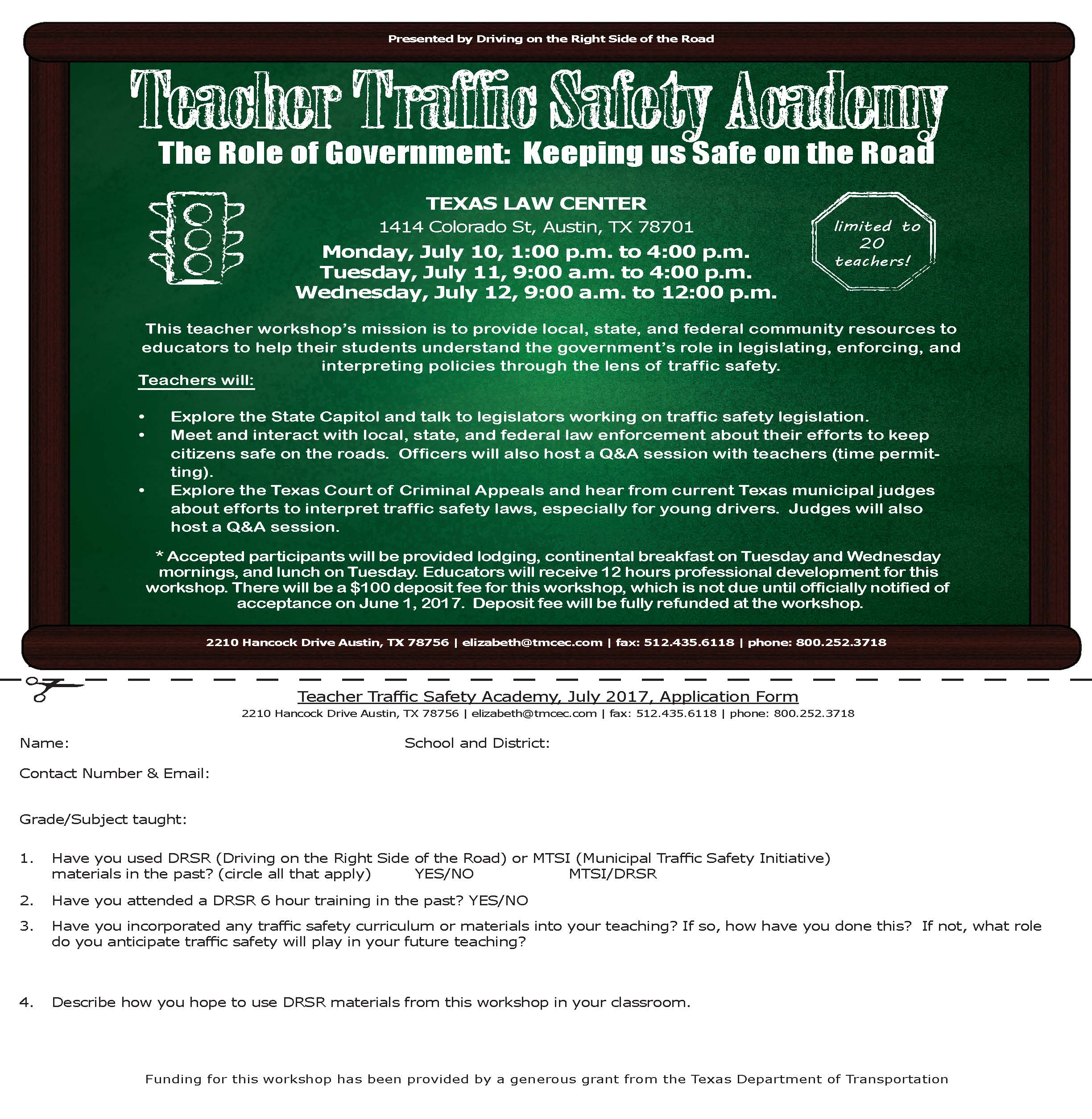 Teacher Traffic Safety Academy Application 2016.jpg